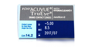 Acuvue Johnson & Johnson  1 Day Acuvue TruEye  With Hydraclear from Johnson and Johnson