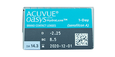Acuvue Johnson & Johnson  Johnson & Johnson Acuvue Oasys 1 Day Disposable