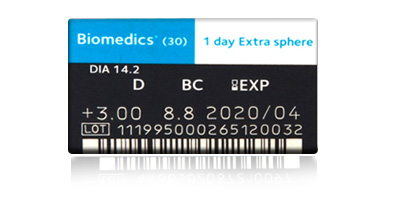 Coopervision Low Price Coopervision Biomedics 1 Day Extra 90 Pack Disposable