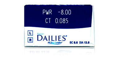 Ciba Vision Focus Dailies 30 Pack