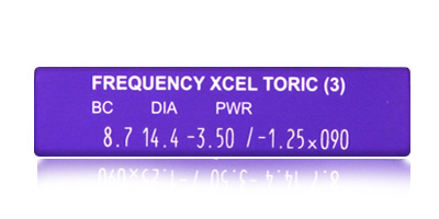 Coopervision Frequency XCEL Toric