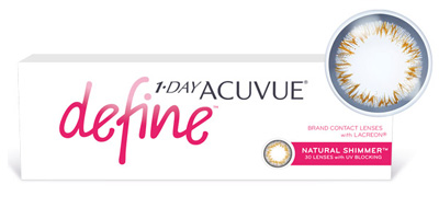 1 Day Acuvue Define 30 Pack Contact Lenses