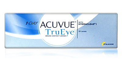 1 Day Acuvue Trueye 30 pack with UV Blocking by Johnson & Johnson Contacts