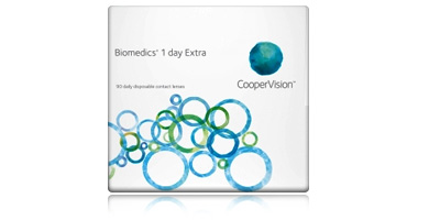 Low Price Coopervision Biomedics 1 Day Extra 90 Pack Disposable Contact Lenses