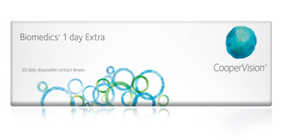 Coopervision Biomedics 1 Day Extra 30 Daily Disposable Contact Lenses
