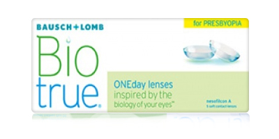 Bausch & Lomb Biotrue ONEday Disposable  for Presbyopia Contact Lenses