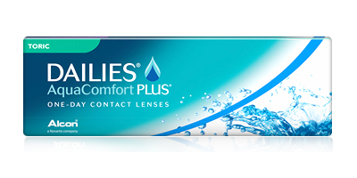 Cibavision Focus Dailies Toric All Day comfort One-Day Contact Lenses