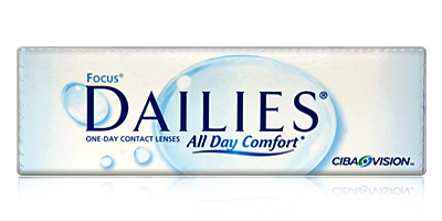 Cibavision Focus Dailies All Day comfort Daily Disposable Contacts