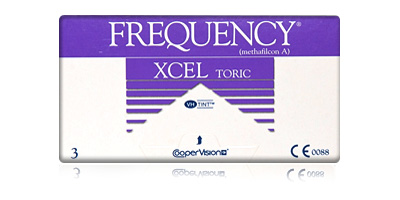 Frequency XCEL Toric Contact Lenses