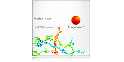 Coopervision Proclear 1 Day 90 Pack Disposable Daily Contacts