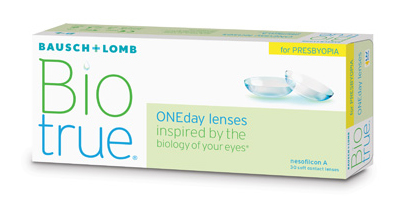 Bausch & Lomb Biotrue ONEday Disposable  for Presbyopia Lenses
