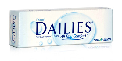 Cibavision Focus Dailies All Day comfort Daily Disposable Lenses