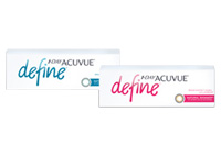 1-Day Acuvue Define Contact Lenses with LACERON & UV Blocking
