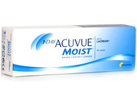 Best Daily Disposable 1 Day Acuvue Moist 30 Lenses with LACERON