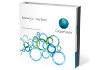 Low Price Coopervision Biomedics 1 Day Extra 90 Pack Disposable Lenses