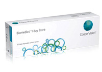 Coopervision Biomedics 1 Day Extra 30 Pack Disposable