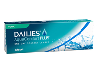 Alcon Dailies AquaComfort Plus Toric One-Day Contact Lenses